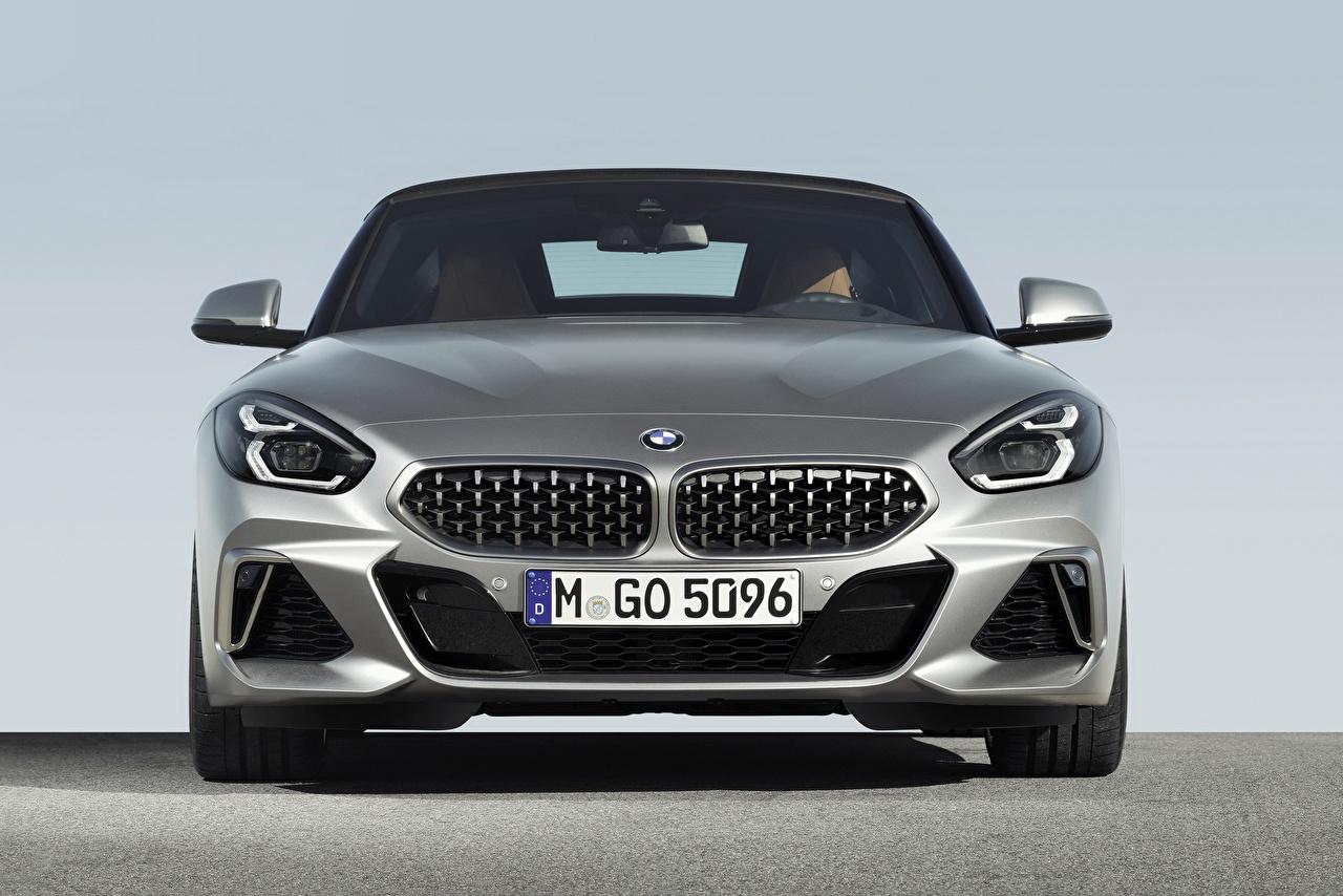 Photo BMW Z4 M40i 2019 G29 Silver color auto Front Cars automobile
