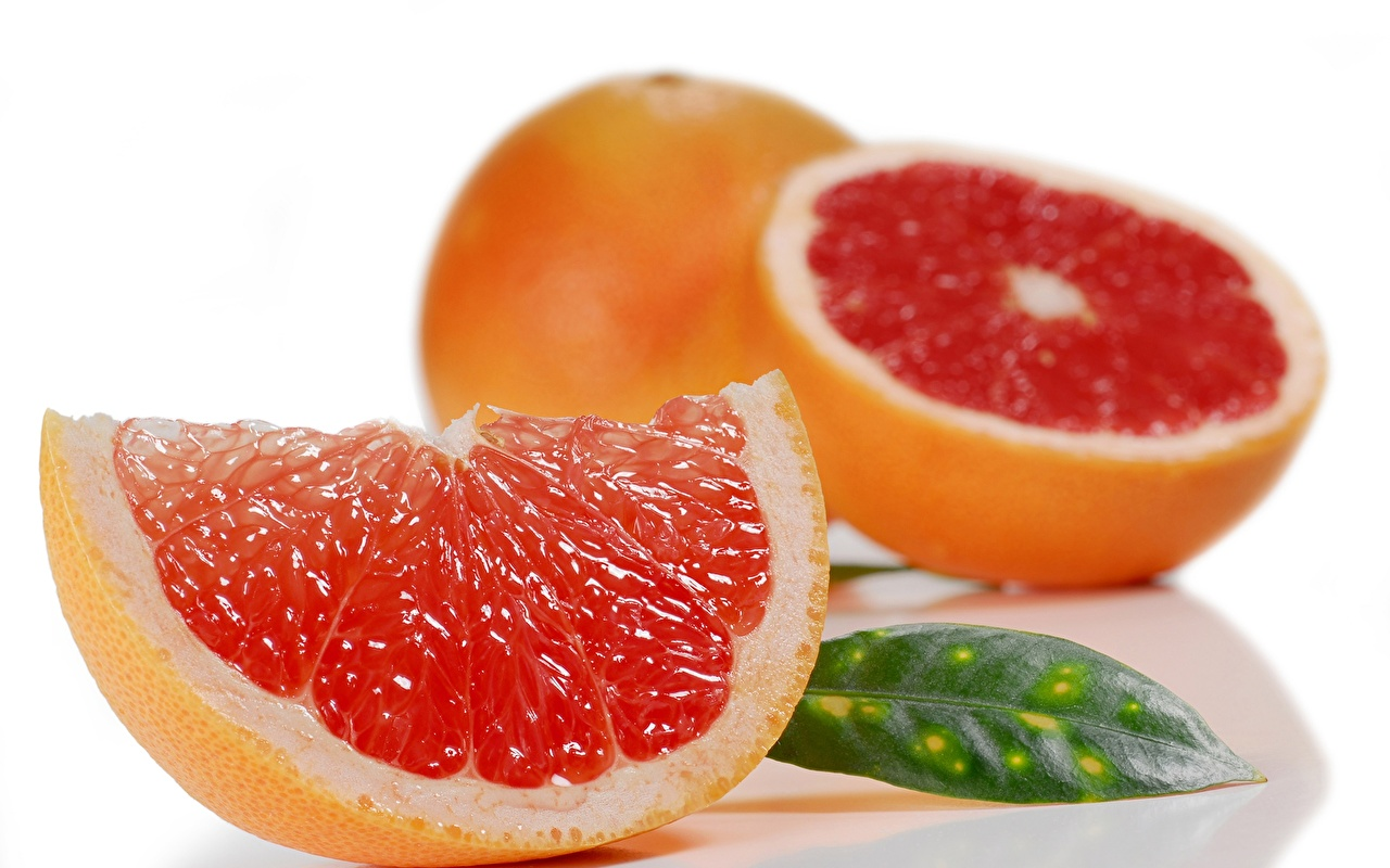 Wallpaper Grapefruit Food Closeup