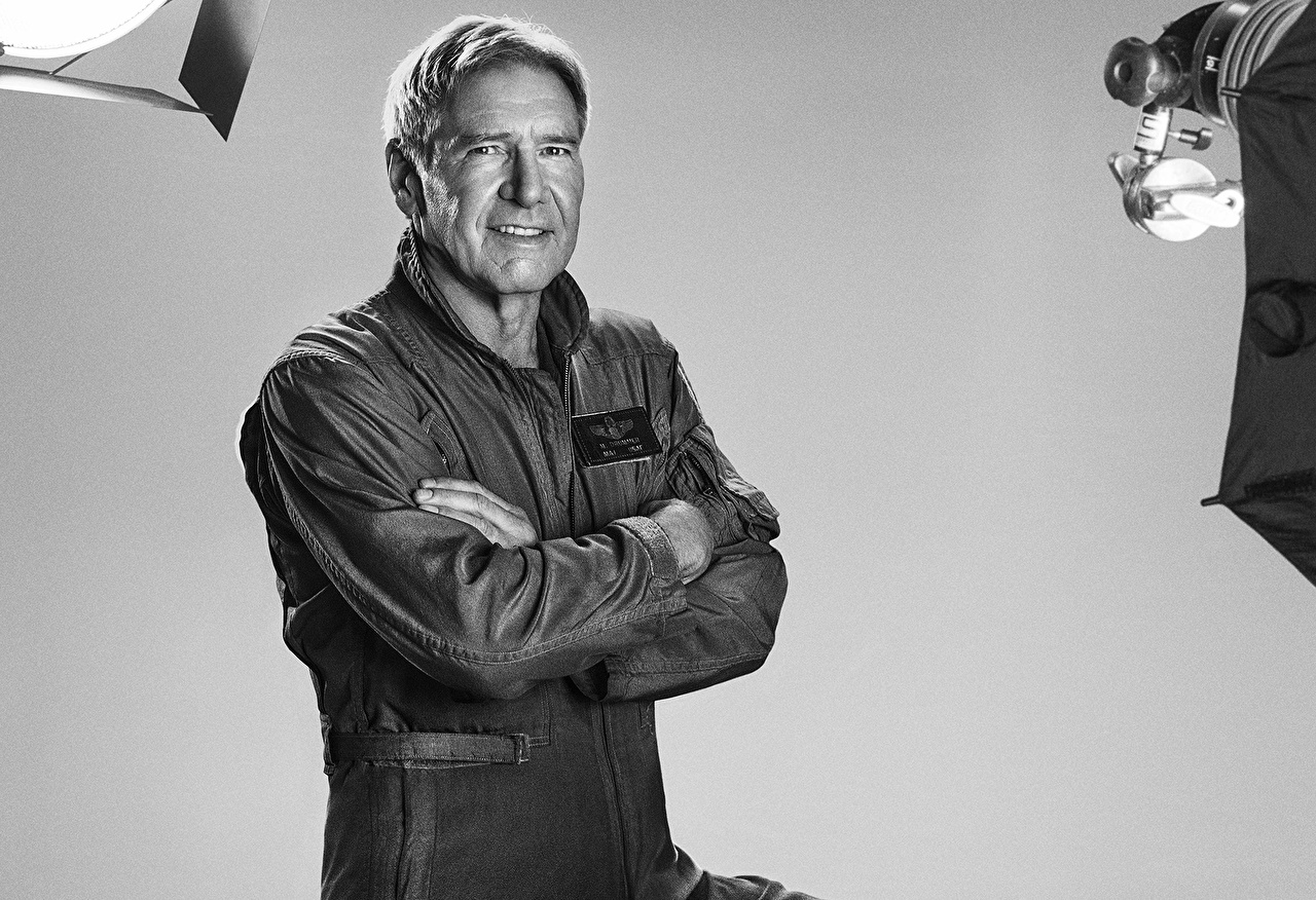 Wallpaper Celebrities The Expendables 2010 Man The Expendables 3, Max Drummer Harrison Ford film Men Movies