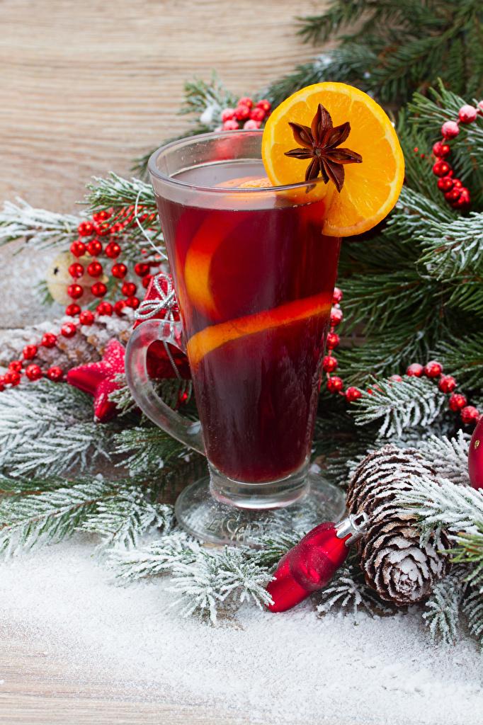 Hintergrundbilder Neujahr Sternanis Zitrone Trinkglas Ast Zapfen Lebensmittel Getränke das Essen