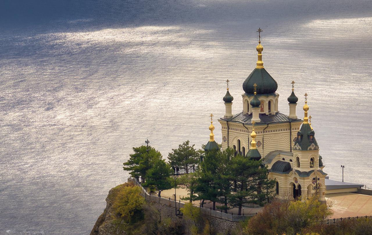Photos Crimea Russia Foros Church of Christ's Resurrection, Alexey Bagaryakov Temples Cities temple