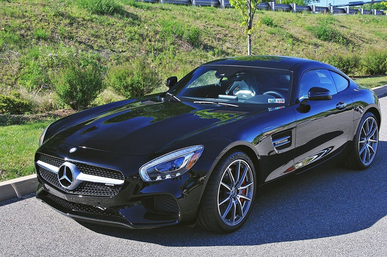 Fonds D Ecran Mercedes Benz Mercedes Amg Gt S Noir Voitures