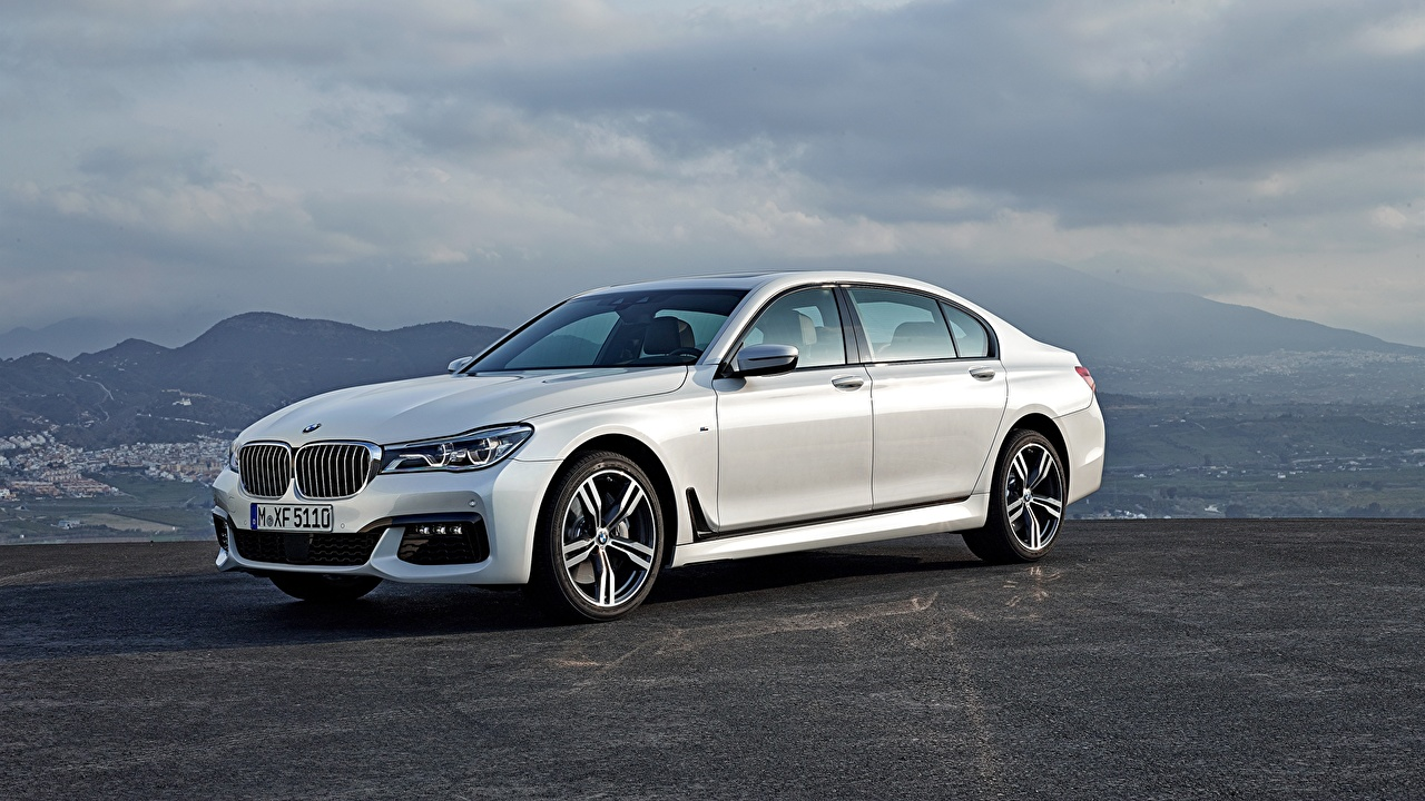 Picture BMW 7 G11 / G12 White Side Cars auto automobile