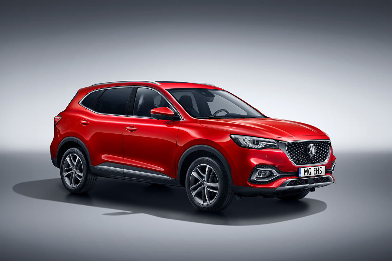 Photos CUV MG EHS Plug-in Hybrid, EU-spec, 2020 Hybrid vehicle Red Metallic automobile Crossover Cars auto