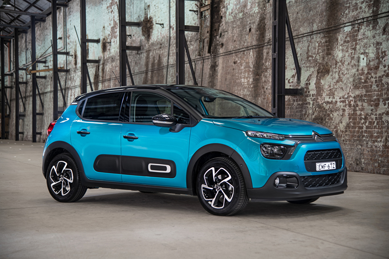 Wallpaper Citroen Crossover C3, AU-spec, 2021 Cars Metallic CUV auto automobile