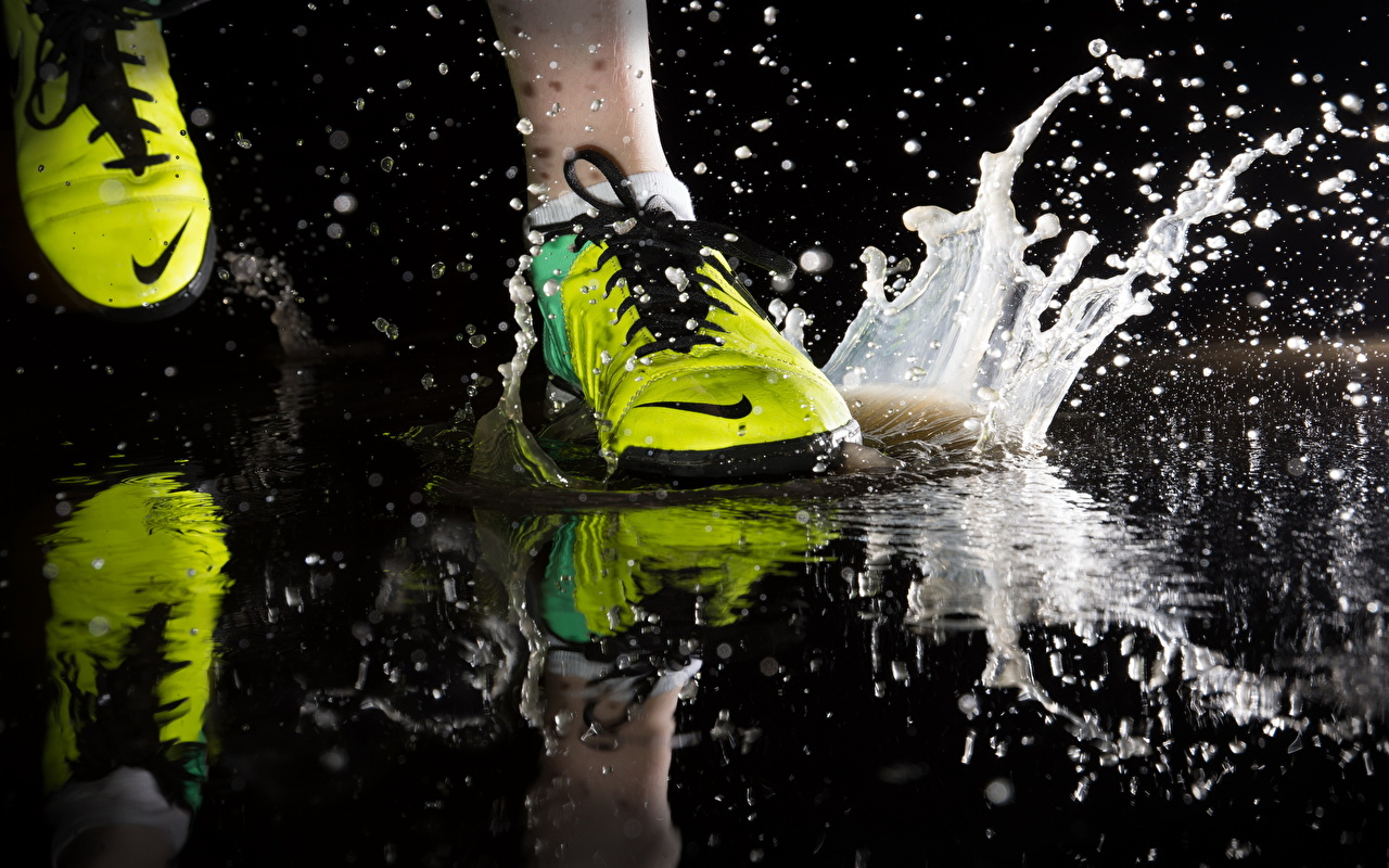 Fondos De Pantalla De Cerca Nike Correr Calzado Deportivo