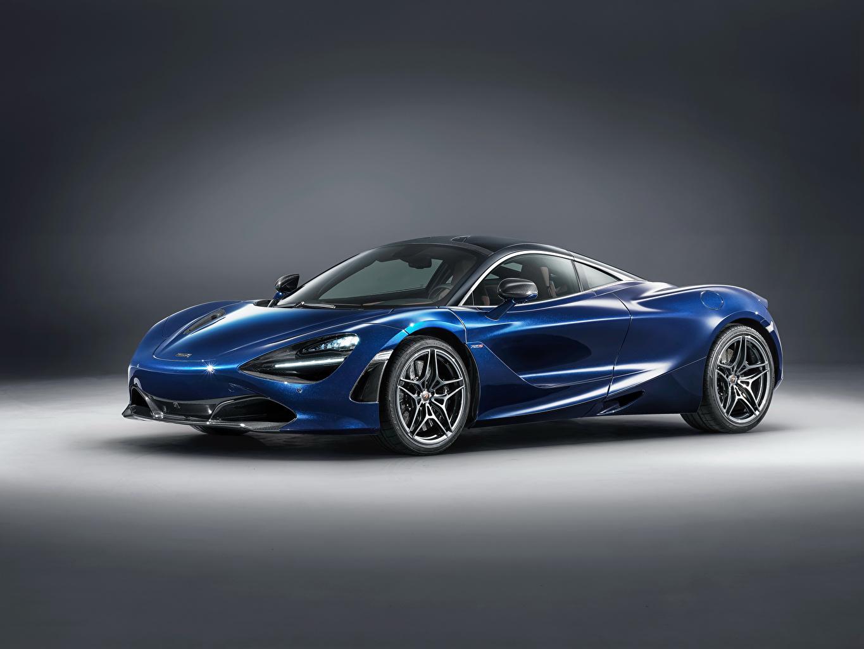 Photo McLaren 2018 MSO 720S  Atlantic Blue Cars auto automobile