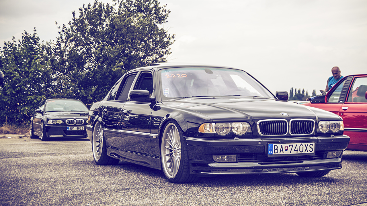 Photo BMW Tuning E38 Stance auto Cars automobile