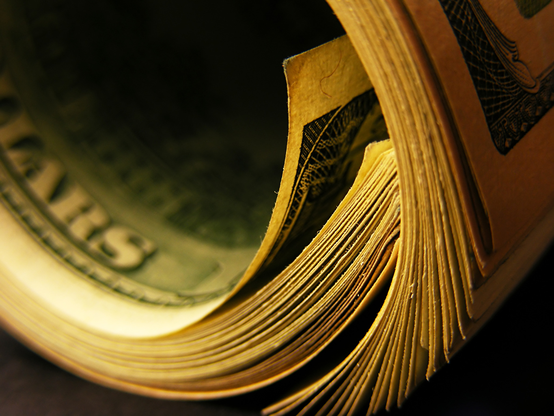 Photo Banknotes Macro Money Closeup Paper money Macro photography