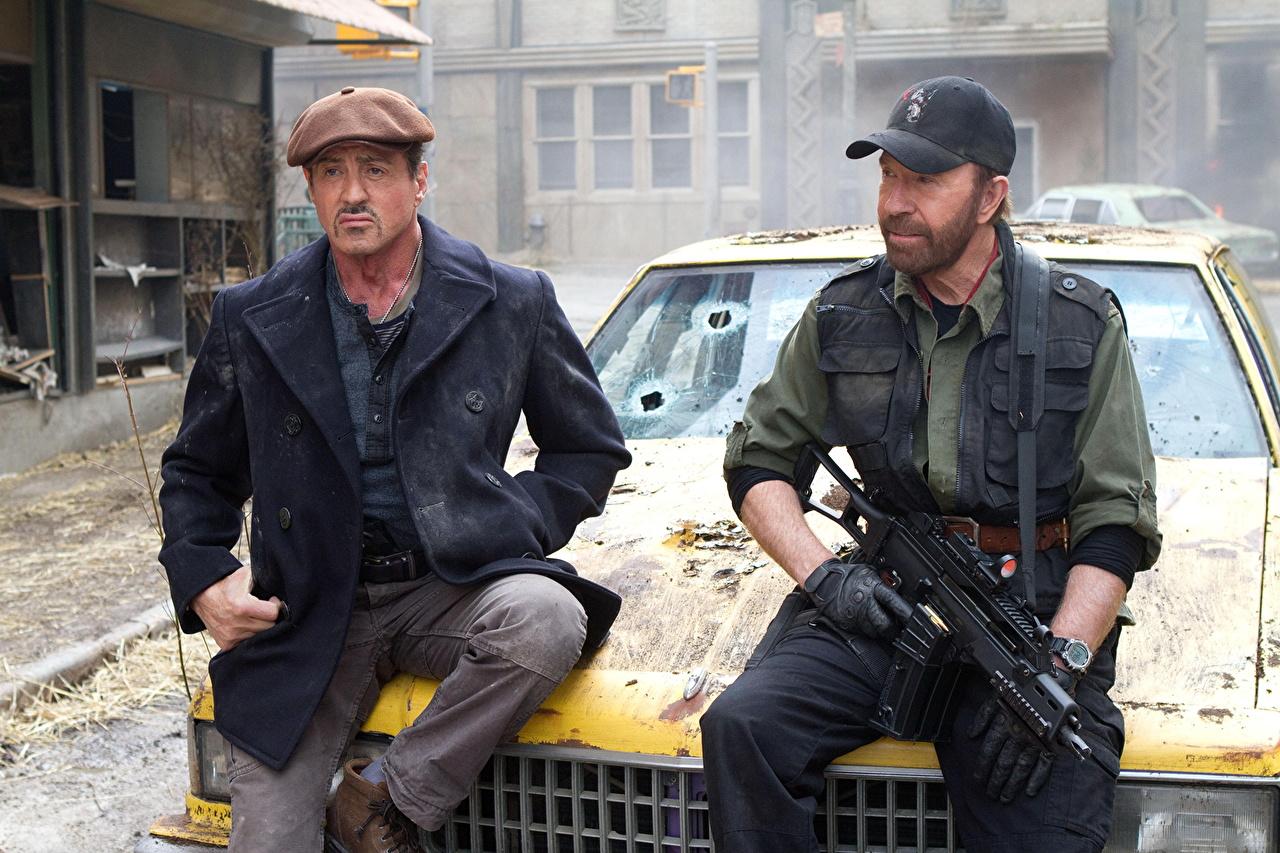 The Expendables Chuck Norris Sylvester Stallone Película