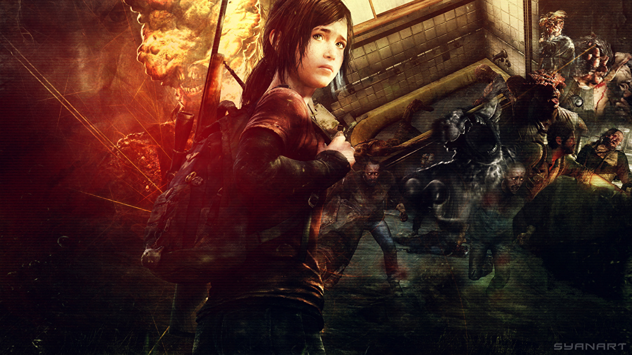 Picture The Last of Us Zombie syanart Girls Games