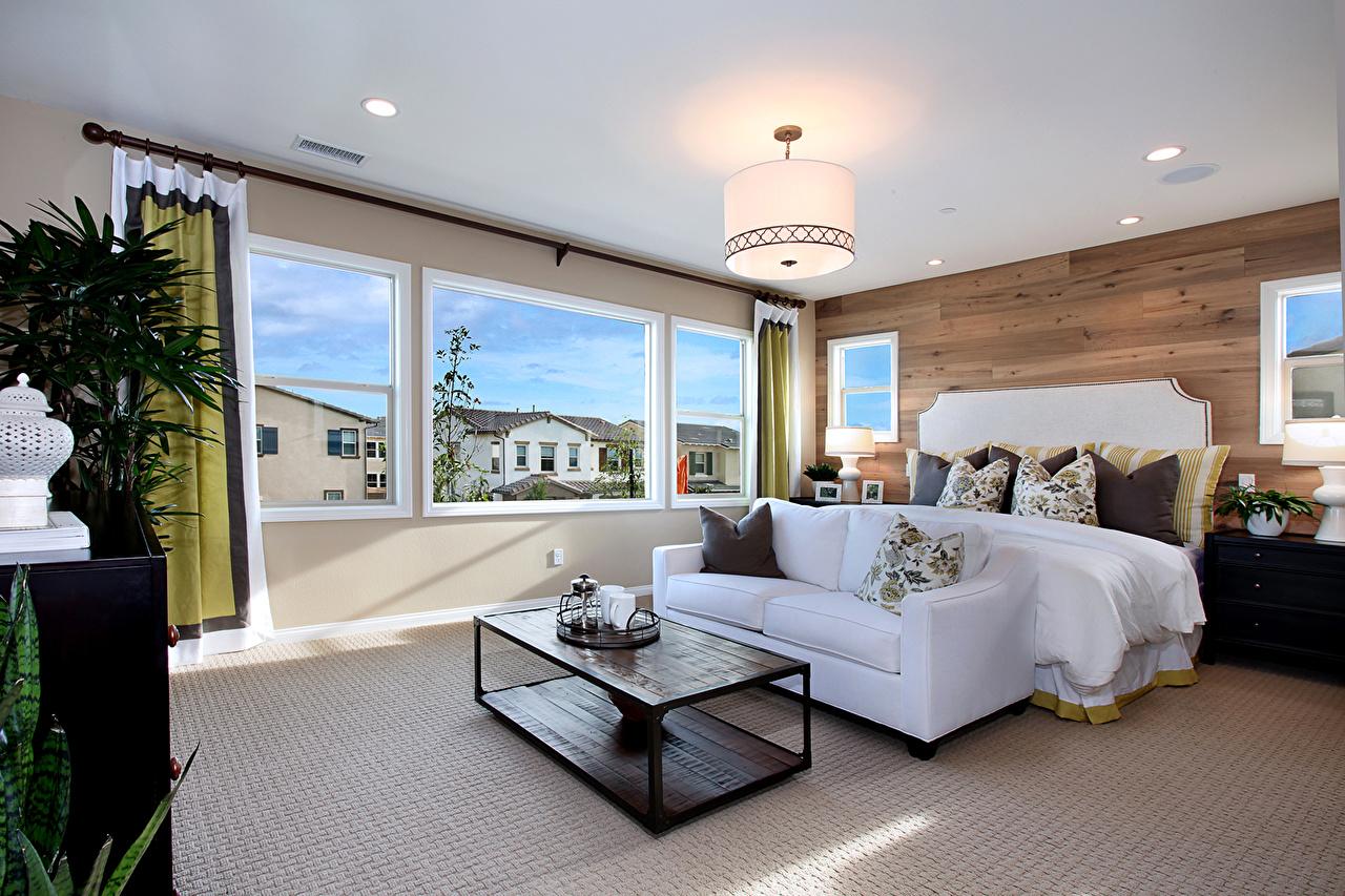 Fotos Wohnzimmer Innenarchitektur Couch Tisch Lampe Design