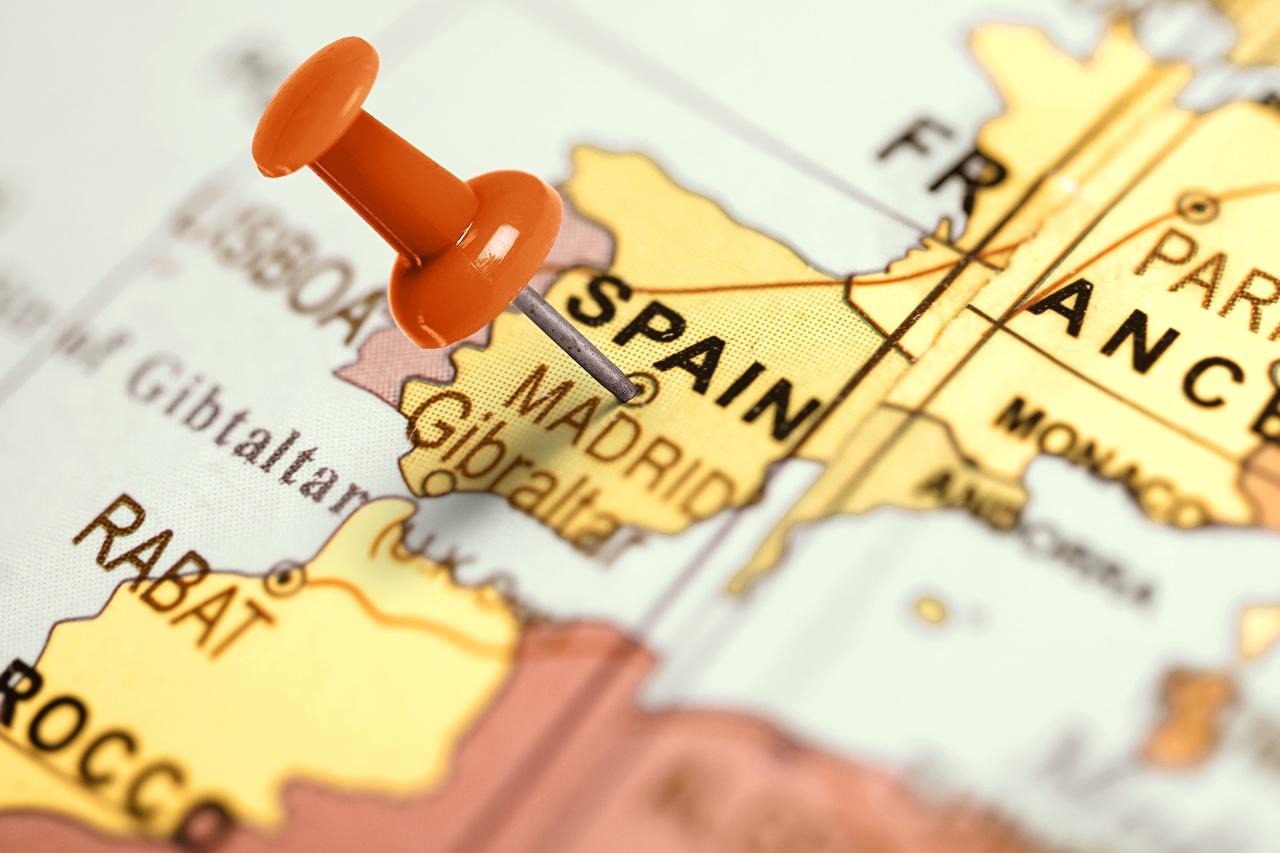 Fotos von Madrid Spanien Globus Geographie