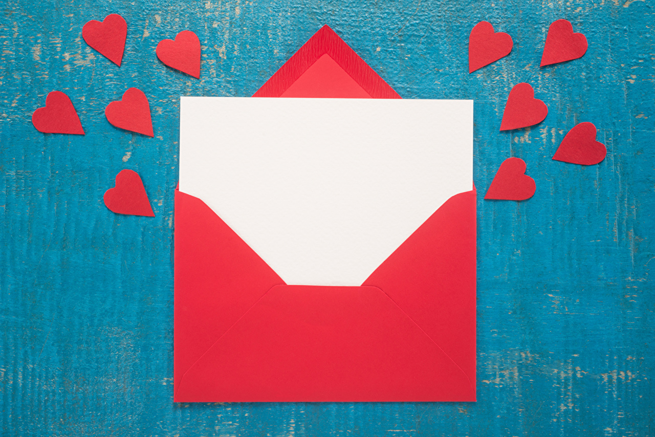 Images Envelope Valentine's Day Heart Sheet of paper Red Letter message Template greeting card