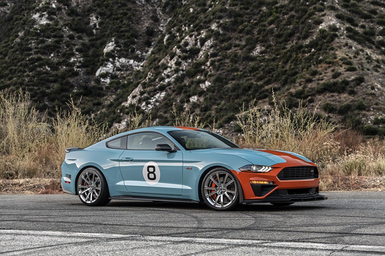 Fotos Ford Mustang GT, Roush Performance, Stage 3 Autos Seitlich Metallisch auto automobil
