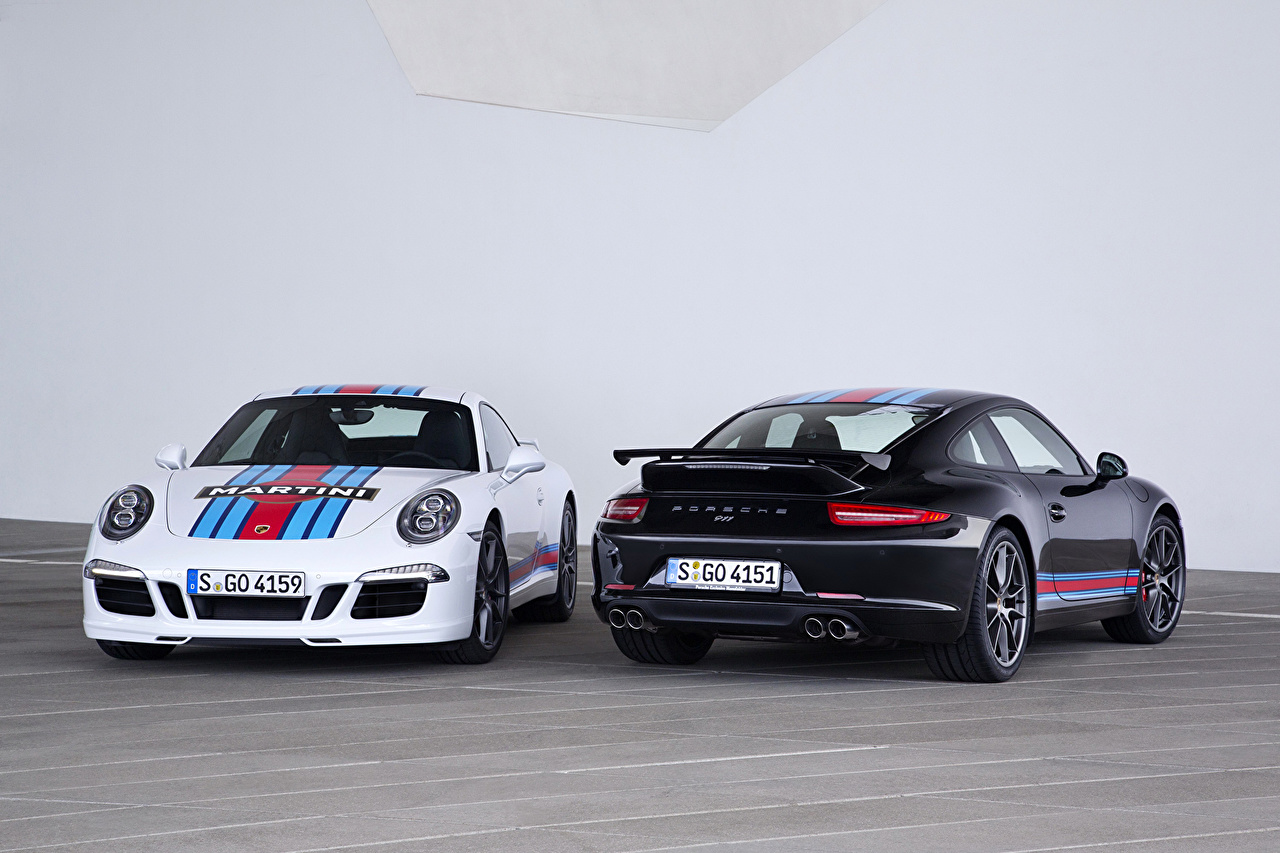 Images Tuning Porsche 2014 911 Carrera S Two Cars Metallic 2 auto automobile