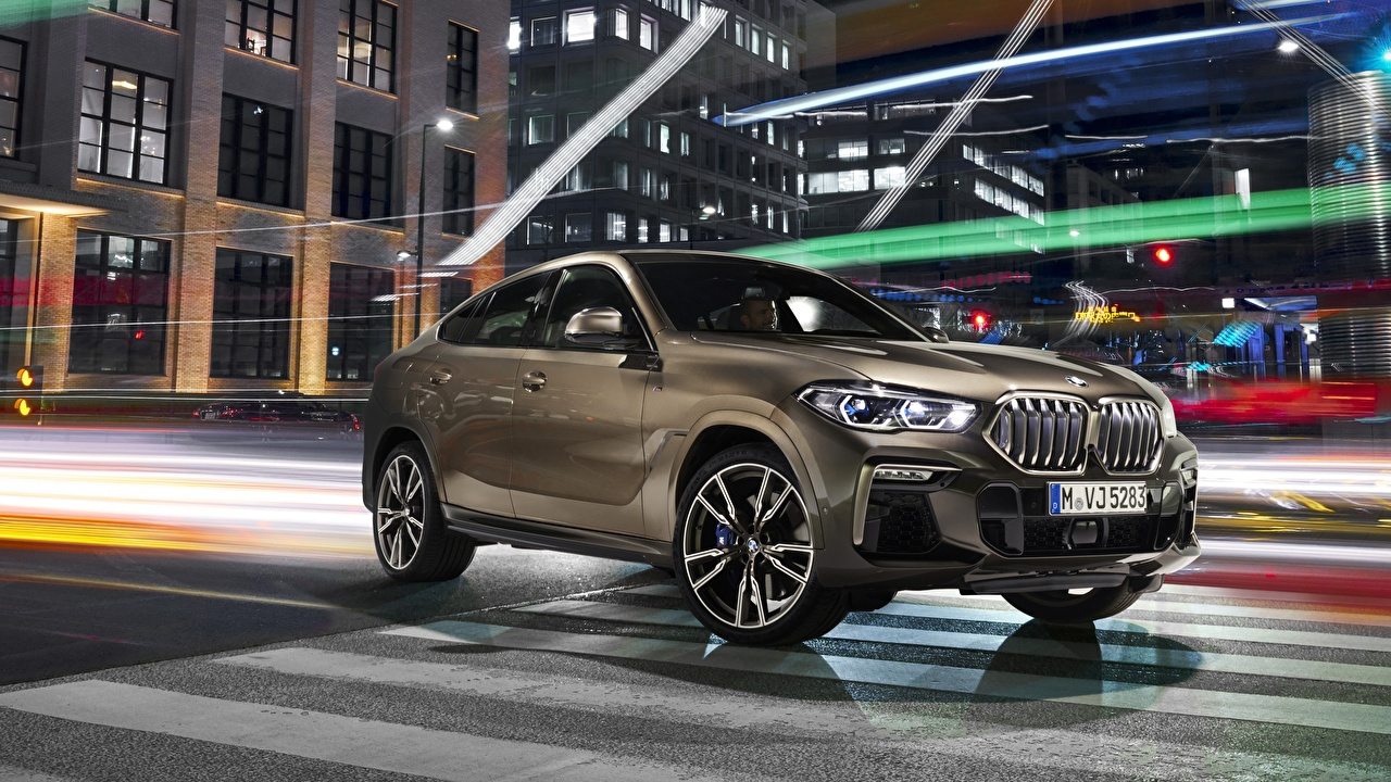 Pictures BMW CUV X6 2019 M50i automobile Crossover Cars auto