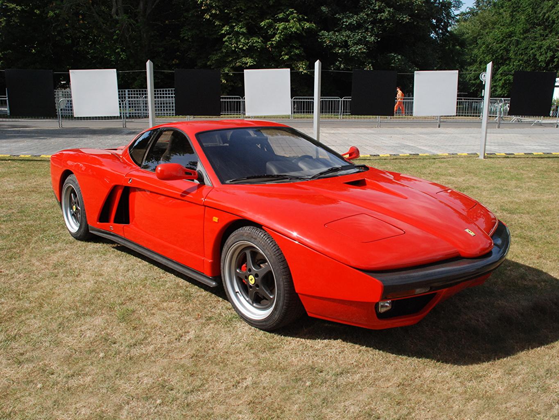 Images Tuning Ferrari 1993 FZ93 (Zagato) Red Retro Cars vintage antique auto automobile