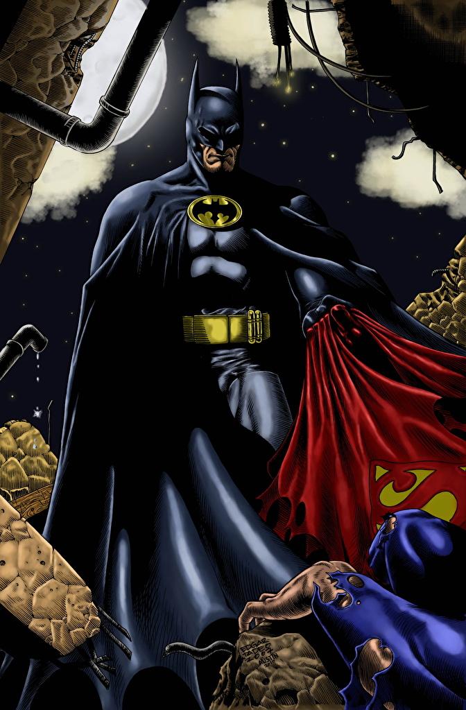 Héroes del cómic Batman Héroe superhéroes Fantasía para móvil Teléfono