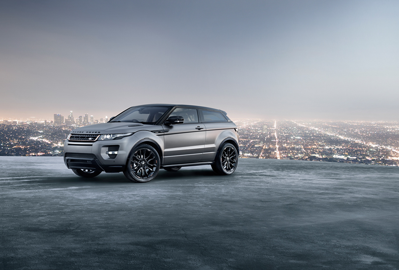Land Rover Evoque 2018 Crossover Metálico Cinza carro, automóvel, automóveis Carros