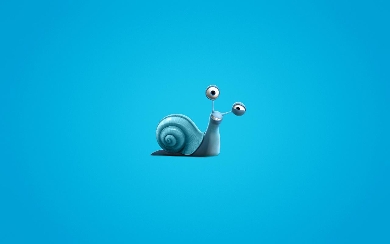Bilder Turbo (film) Schnecken 3D-Grafik Animationsfilm 1280x800 Zeichentrickfilm