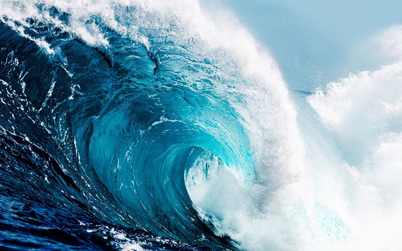 Fonds D Ecran Vagues Ocean Mer Nature Telecharger Photo
