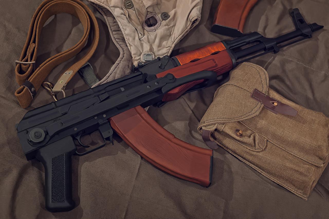 Fotos von Kalaschnikow Sturmgewehr Heer AK 47