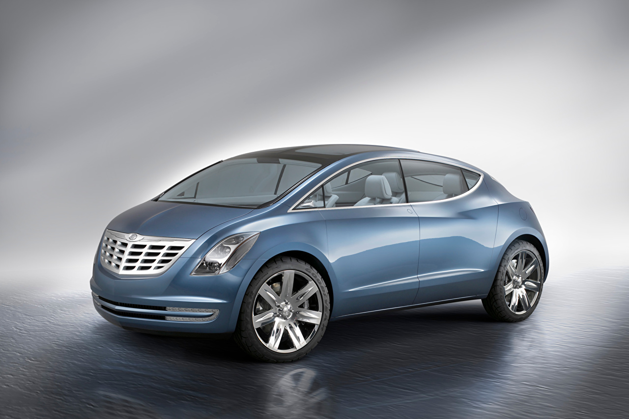Pictures Chrysler ecoVoyager Concept, 2008 auto Side Metallic Cars automobile