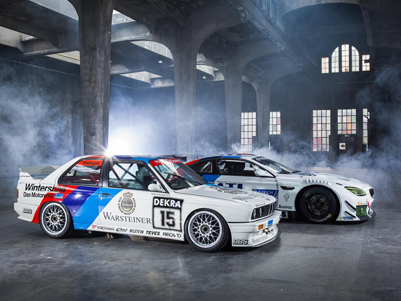 Desktop Wallpapers BMW Tuning M6 E30 automobile auto Cars