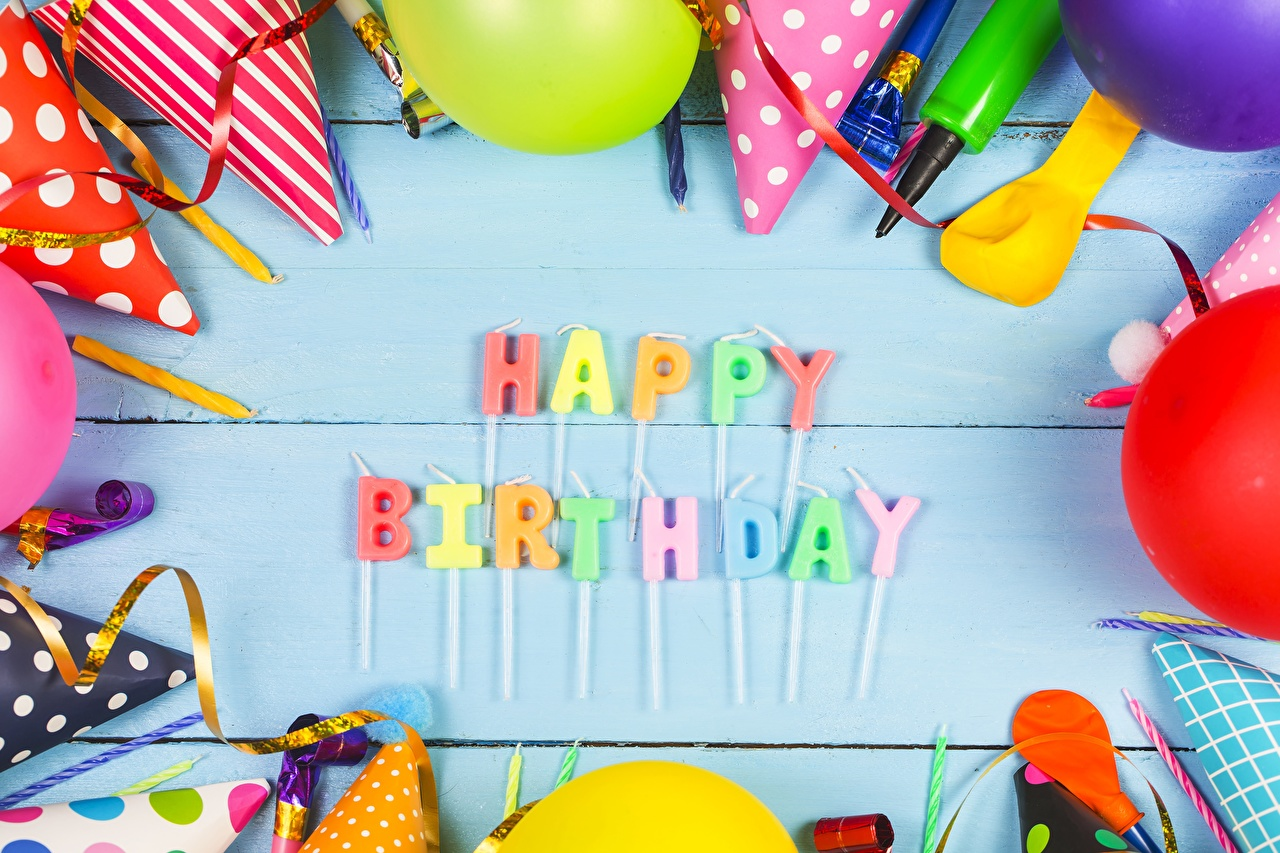 Images Birthday English text lettering Word - Lettering