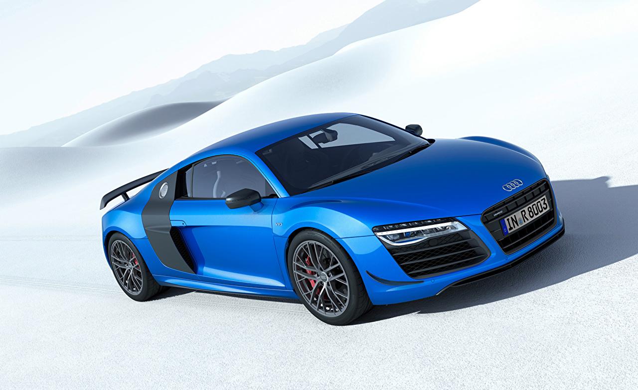 Pictures Audi 2014 R8 LMX Light Blue auto Cars automobile