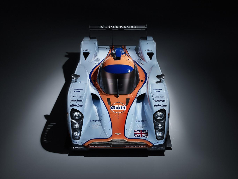 Fotos Aston Martin DBR1-2, LMP1, Sports prototype, 24 Hours of Le Mans auto Von oben Autos automobil