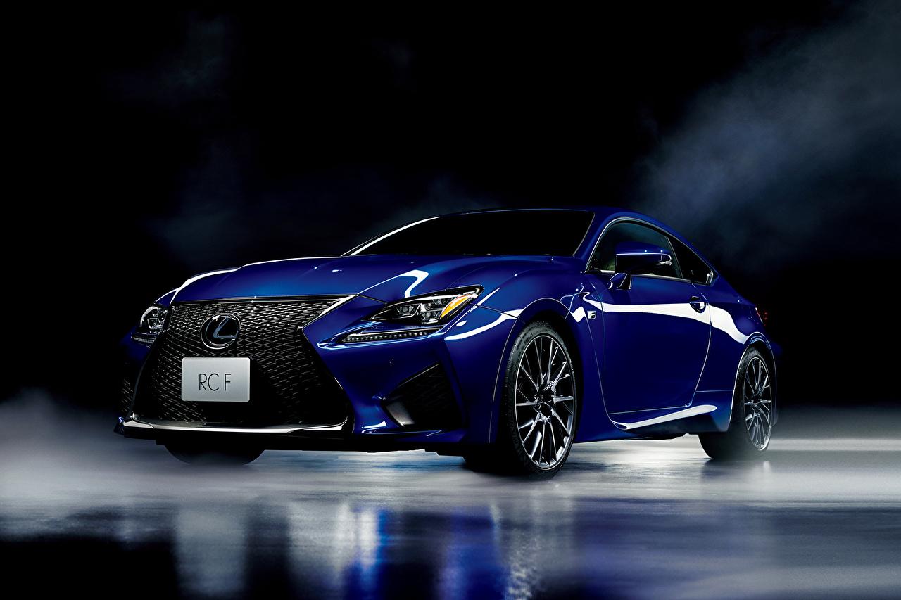 Fondos De Pantalla Lexus 2014 Rc F Jp Spec Azul Coches