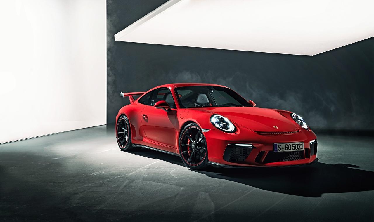 Picture Porsche 911 GT3 Red auto Cars automobile
