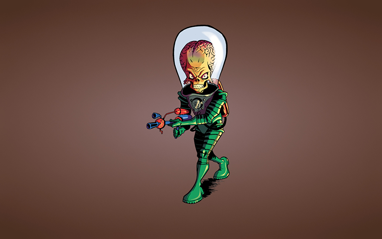 Fondos De Pantalla Mars Attacks Extraterrestre Película