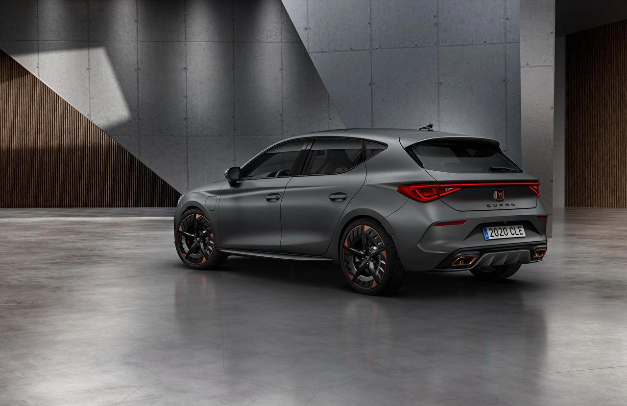 Tapeta na pulpit Seat Cupra, Leon, eHybrid, Worldwide, 2020 Szary Samochody Widok z boku szara samochód