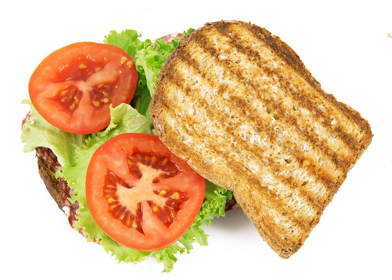 Fotos von Tomate Fast food Butterbrot das Essen Tomaten Lebensmittel