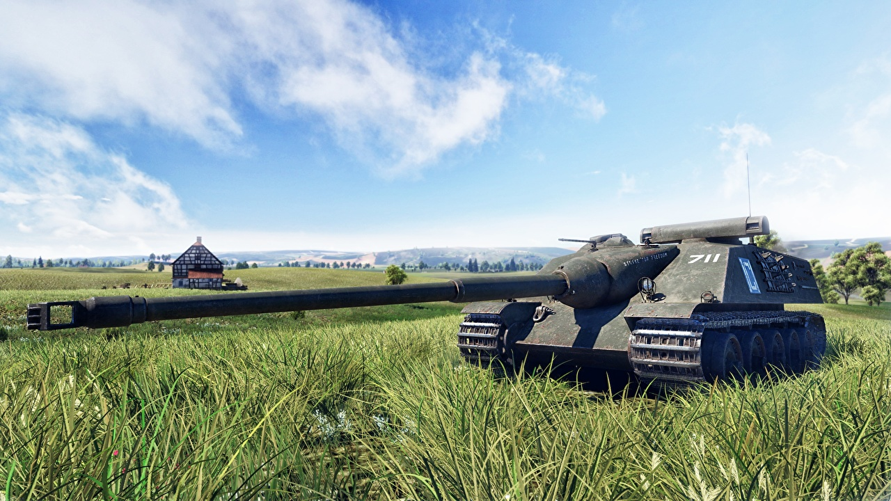 Bakgrunnsbilder War Thunder Kanoner Selvdrevet artilleriinstallasjon AMX 50 Foch 3D grafikk videospill Gress en kanon Dataspill