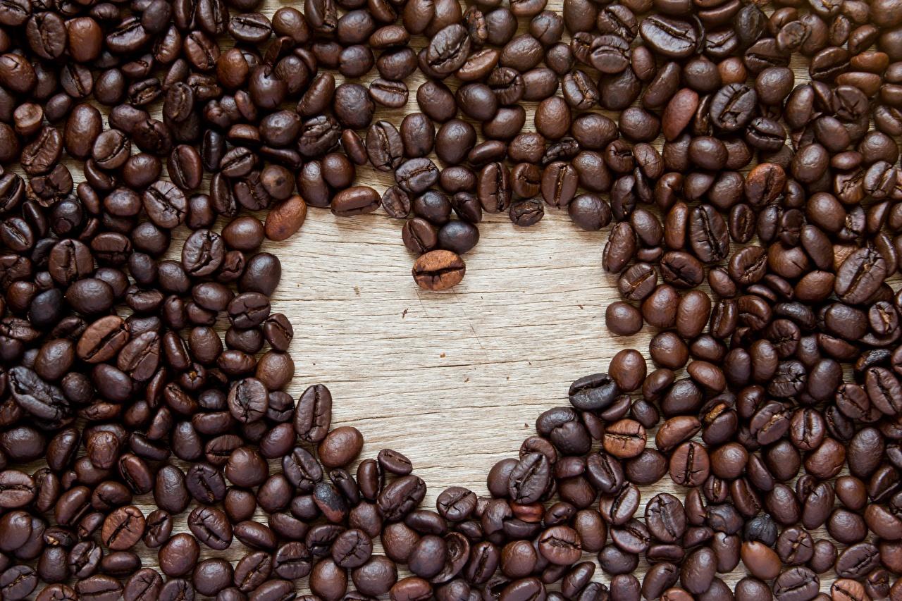 Bilder von Herz Kaffee Getreide