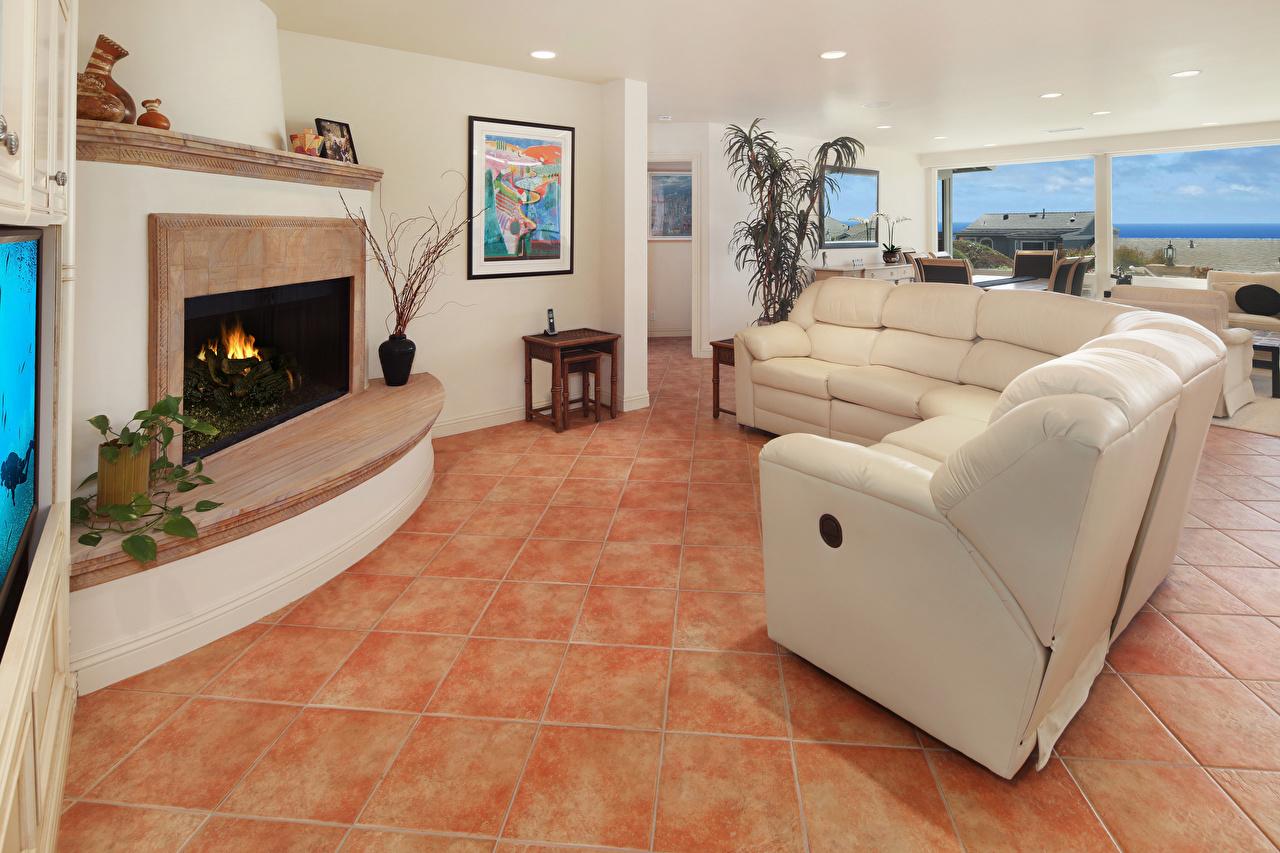Afbeeldingen huiskamer Interieur Open haard divan Ontwerp zitkamer Woonkamer Bankstel