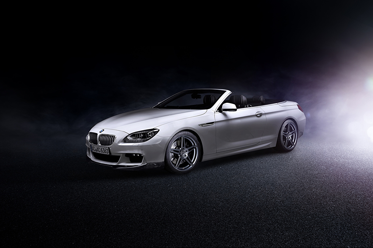 Pictures BMW 2011 AC Schnitzer ACS6 6-Series F12 Convertible White Cars Cabriolet auto automobile