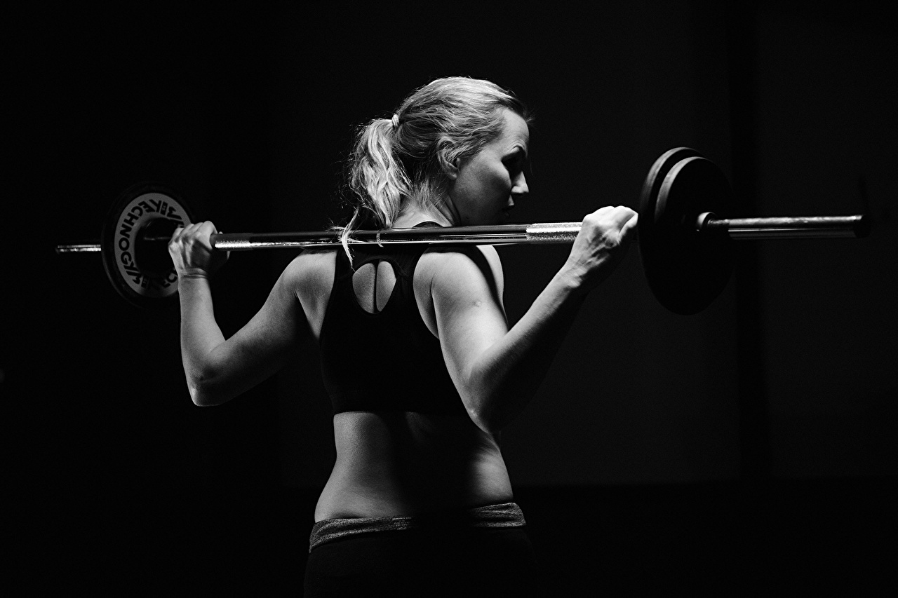 Barbell Wallpaper
