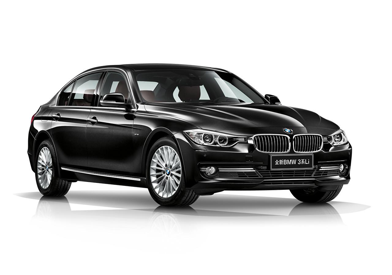 Picture BMW Black Cars Metallic White background auto automobile