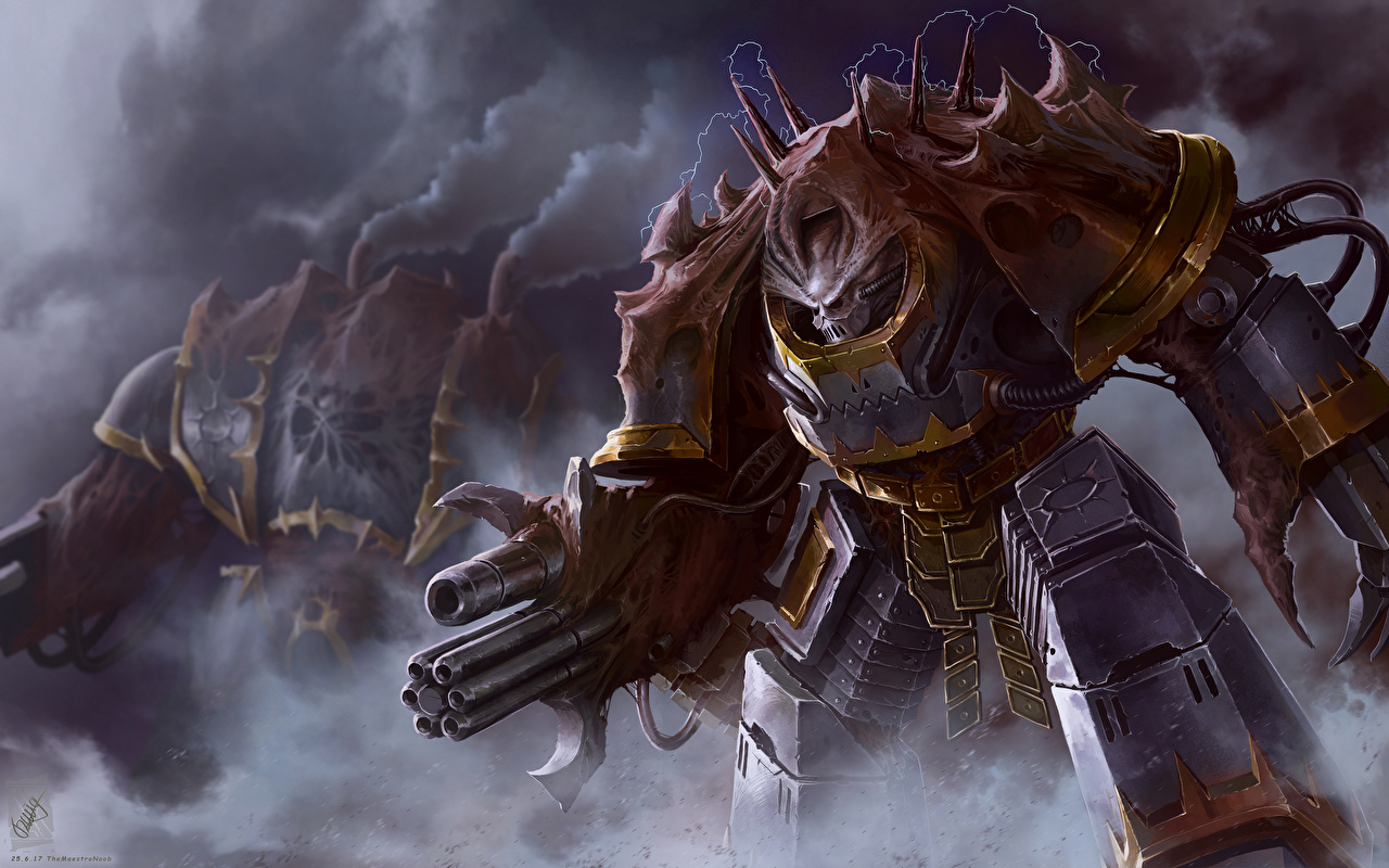 Desktop Wallpapers Warhammer 40000 Warrior Iron Warrior