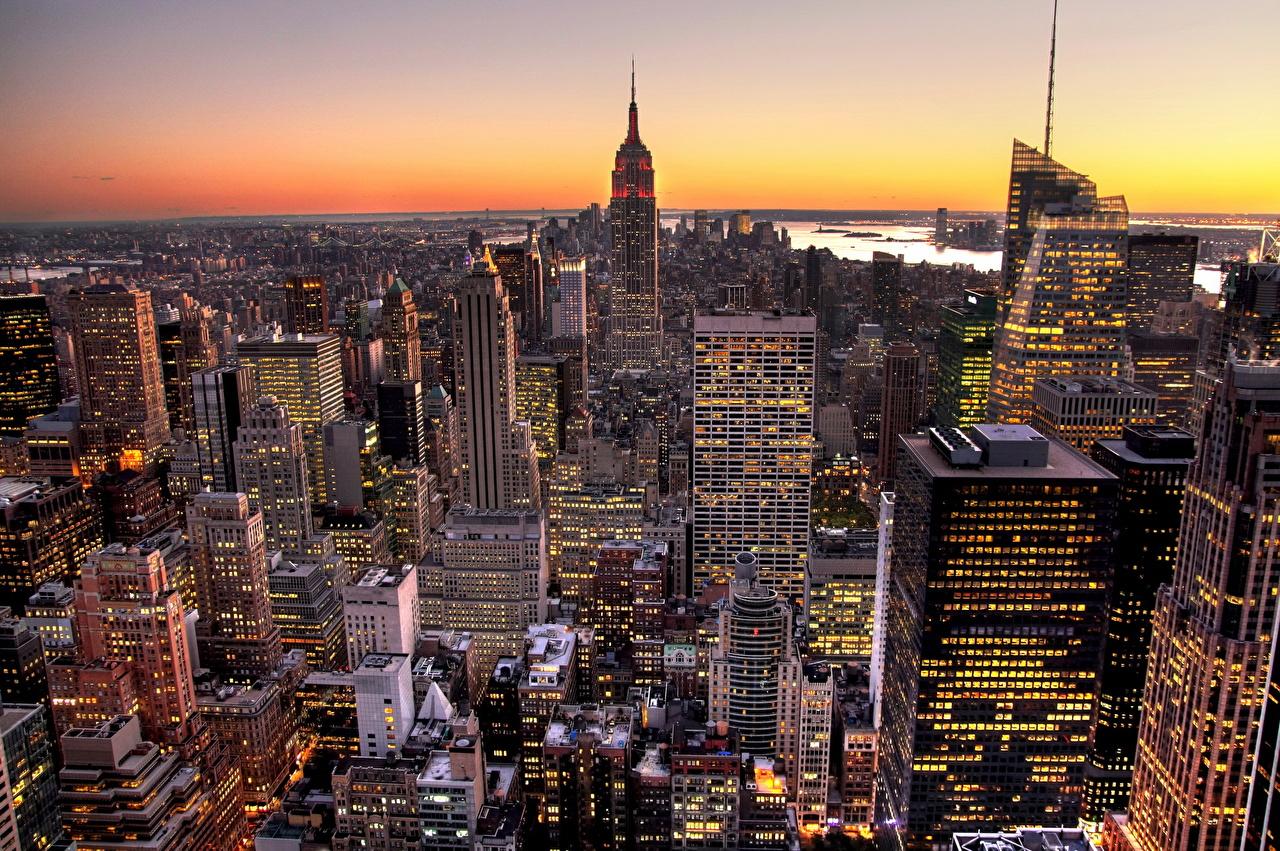 Wallpaper Manhattan New York City USA Cities