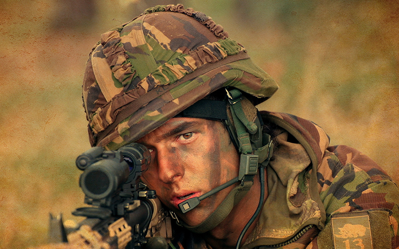 壁紙 兵 男性 ミリタリーヘルメット ヘルメット 狙撃手 顔 陸軍 ダウンロード 写真