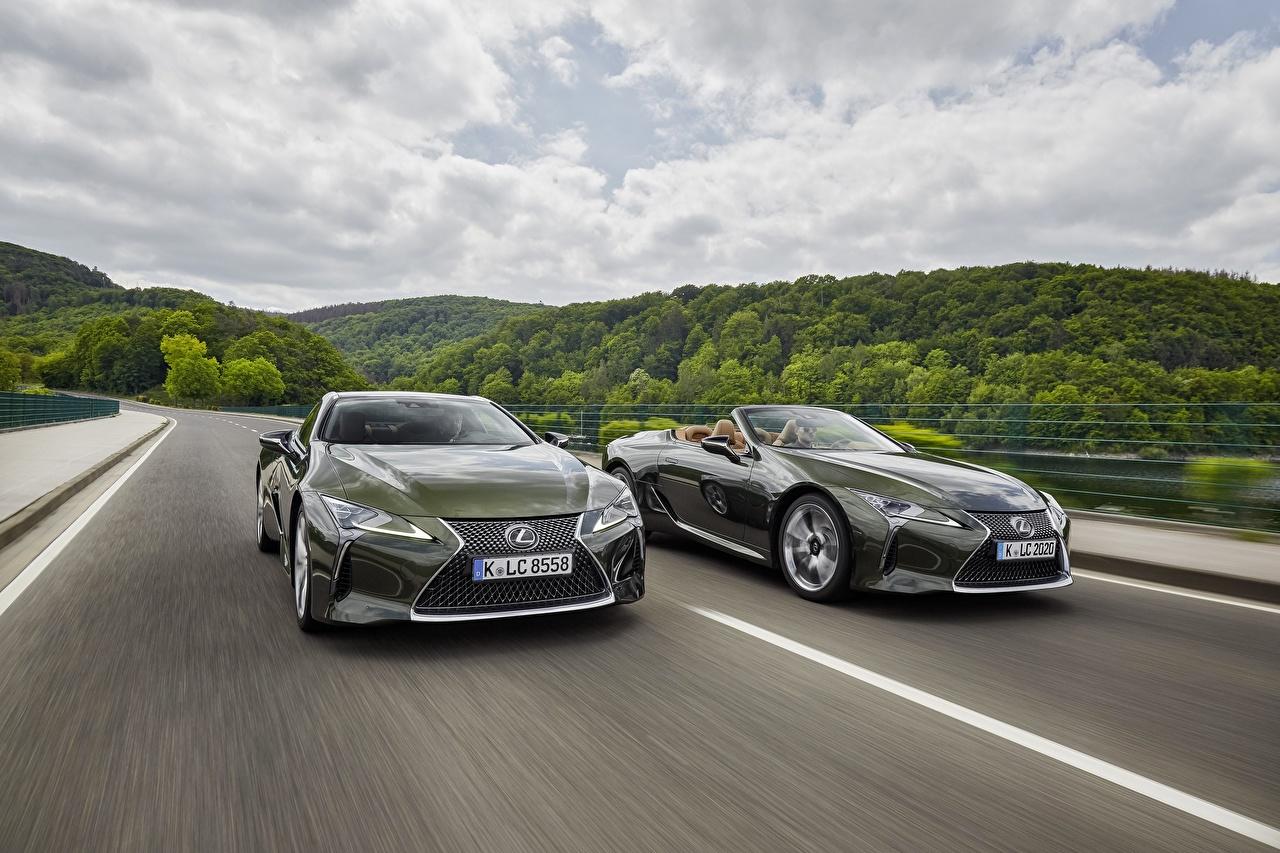 Lexus 2021 LC 500 Convertible Movimento Dois Cabriolé carro, automóvel, automóveis, Conversivel, 2, velocidade Carros