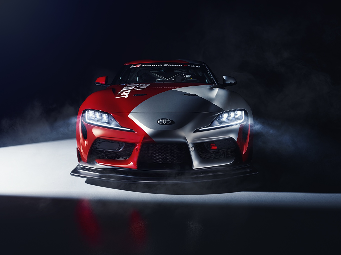 Image Toyota Tuning GT4 GR Supra Front automobile auto Cars