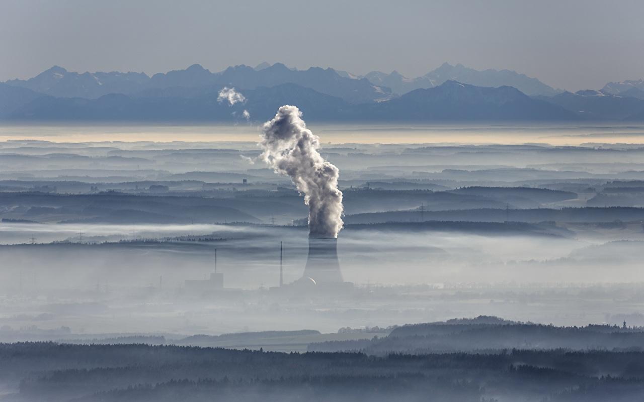 Fondos De Pantalla Alemania Isar Nuclear Power Plant Atomic