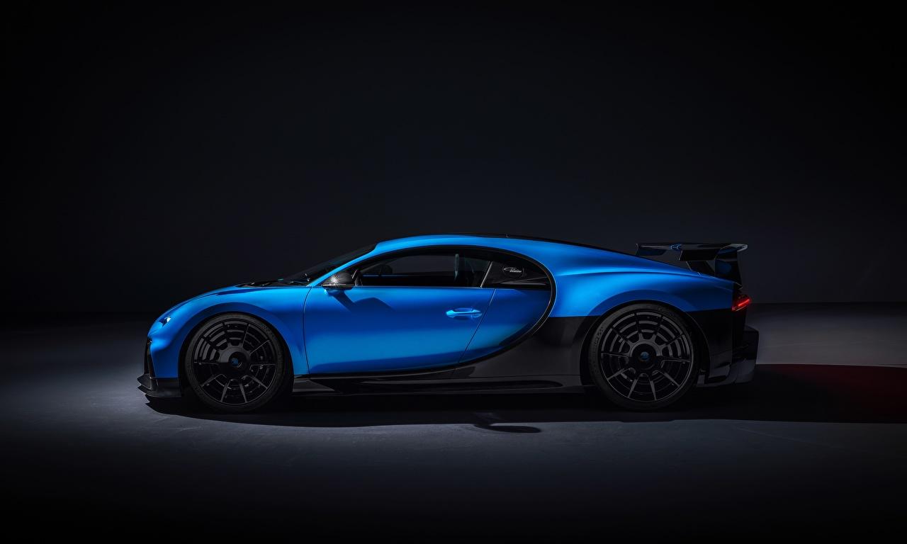 Photos BUGATTI Chiron, 2020, Pur Sport Blue Side auto Metallic Cars automobile